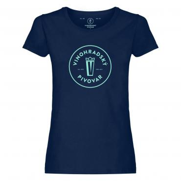 Woman's Navy T-Shirt, size S